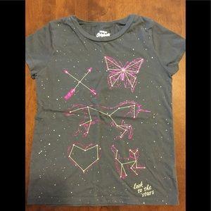 Girls Short Sleeve T-shirt. M(8).